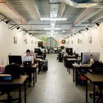 The dedicated desk area gives you the best of coworking combined with your own personal space!