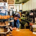 Nearby at Roots Cafe is a great place to get your morning coffee (and maybe a pastry!)